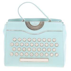 Kate Spade Just My Type Be Mine Typewriter Satchel